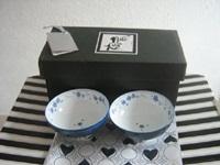 Wedding gift Boxed Japanese bowls