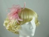 Molly and Rose Two Tone Fascinator in Pink