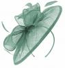 Failsworth Millinery Sinamay Disc Headpiece in Air
