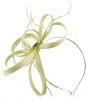 Failsworth Millinery Sinamay Loops Fascinator in Aloe