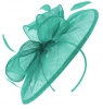 Failsworth Millinery Sinamay Disc Headpiece in Amalfi