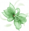 Failsworth Millinery Sinamay Clip Fascinator in Apple