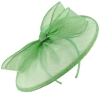 Failsworth Millinery Sinamay Disc in Apple