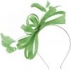 Failsworth Millinery Sinamay Loops Fascinator in Apple