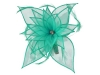 Failsworth Millinery Diamante Organza Fascinator in Aruba