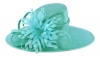 Failsworth Millinery Ascot Hat in Aruba