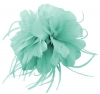 Failsworth Millinery Feather Fascinator in Aruba