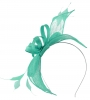 Failsworth Millinery Sinamay Fascinator in Aruba