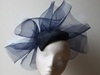 Couture by Beth Hirst Navy Percher with Crin Frill