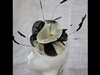 Couture by Beth Hirst Black and Cream Swirls