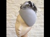Couture by Beth Hirst Grey Feather Beret