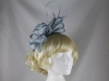 Failsworth Millinery Two Tone Loops Headpiece in Baby Blue & Cornflower