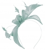 Failsworth Millinery Sinamay Fascinator in Baby Blue