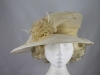 Asymmetrical Organza Hat