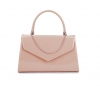 Papaya Fashion Patent Evening Bag in Beige