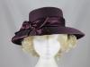 Betmar New York Purple Winter Occasion Hat