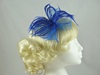Biots and Beads Fascinator in Royal Blue