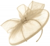 Failsworth Millinery Sinamay Disc in Birch