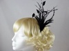 Emma Fascinator in Black
