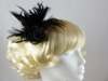 Victoria Fascinator in Black