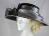 Failsworth Millinery Events Hat in Sinamay and Organza