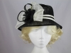 Twin Rosette Occasion Hat