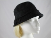 Bow Winter Hat in Black