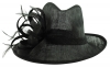 Elegance Collection Stetson Occasion Hat in Black
