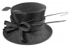 Failsworth Millinery Bow Wedding Hat in Black
