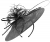 Failsworth Millinery Butterfly Events Disc in Black