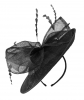 Failsworth Millinery Disc in Black