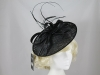 Failsworth Millinery Events Disc in Black