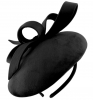 Failsworth Millinery Velvet Pillbox in Black