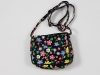 Girls Flower Bag in Black