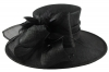 Hawkins Collection Ascot Hat in Black