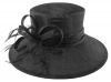 Hawkins Collection Down Brim Occasion Hat in Black