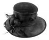 Hawkins Collection Occasion Hat in Black