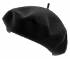 Hawkins Wool Beret in Black