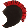 Jiglz Mohican Style Fleece Trapper Hat in Black