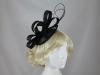 Molly and Rose Loops and Quills Headpiece in Black