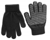 Magic Childrens Grippy Gloves in Black