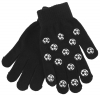 Magic Football Gripper Gloves in Black