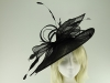 Max and Ellie Ascot Disc Headpiece in Black
