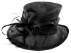Max and Ellie Occasion Hat in Black
