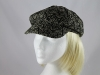 Victoria Ann Fashion Cap in Black