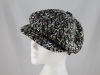 Whiteley Wool Fashion Cap in Black