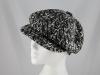 Whiteley Wool Fashion Cap in Black