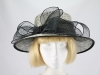 Unnamed Black and Cream Wedding Hat