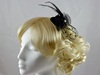 Black Micro Hat with Net