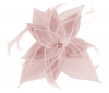 Failsworth Millinery Diamante Organza Fascinator in Blossom